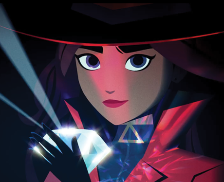 Who are the voice actors in Netflix's Carmen Sandiego