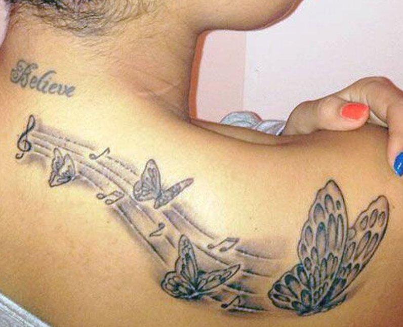 Leigh-Anne Pinnock tattoos