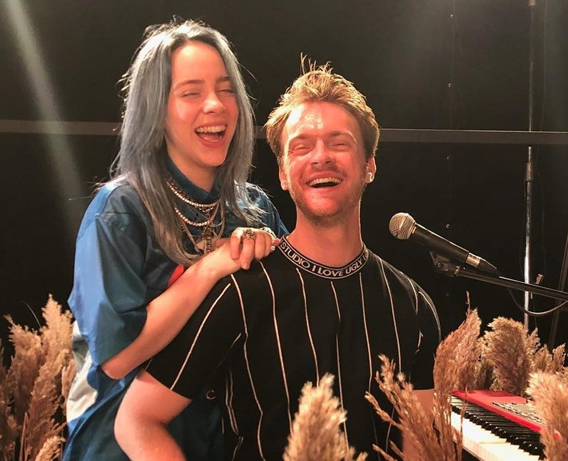 Image result for billie eilish and finneas o'connell