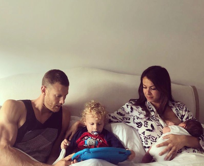 Tom Hopper dating wife children