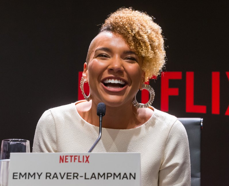 Emmy Raver-Lampman nationality American