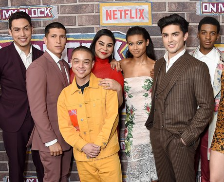 The cast of On My Block season 2