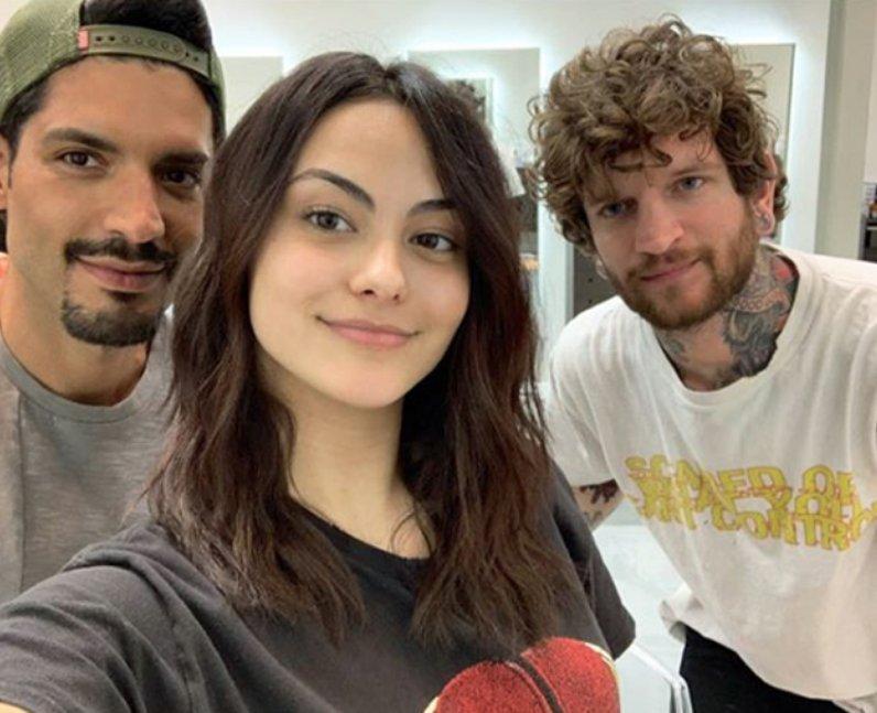 Camila Mendes natural hair haircut