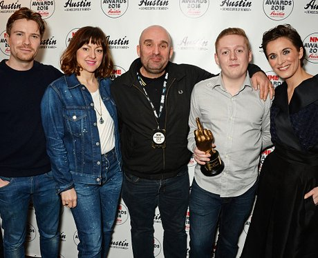 Joe Dempsie and the This Is England cast