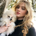 Image 7: Kathryn Newton and her pet dog
