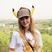 Image 8: Kathryn Newton in Pikachu hat