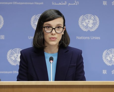 Millie Bobby Brown is UNICEF's youngest Goodwill A
