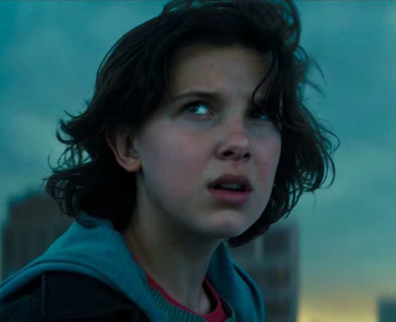 Millie Bobby Brown as Madison Russell in Godzilla