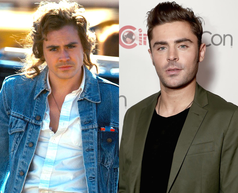 Dacre Montgomery and Zac Efron