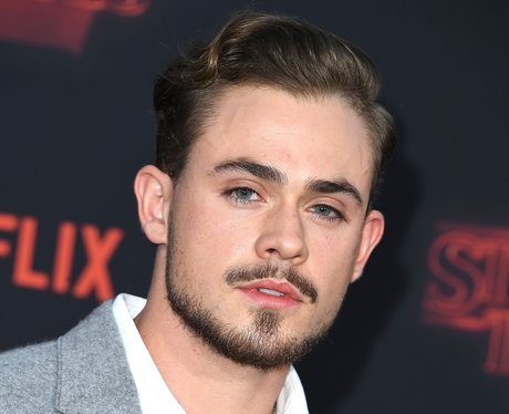 Dacre Montgomery arrives at the Premiere Of Netfli