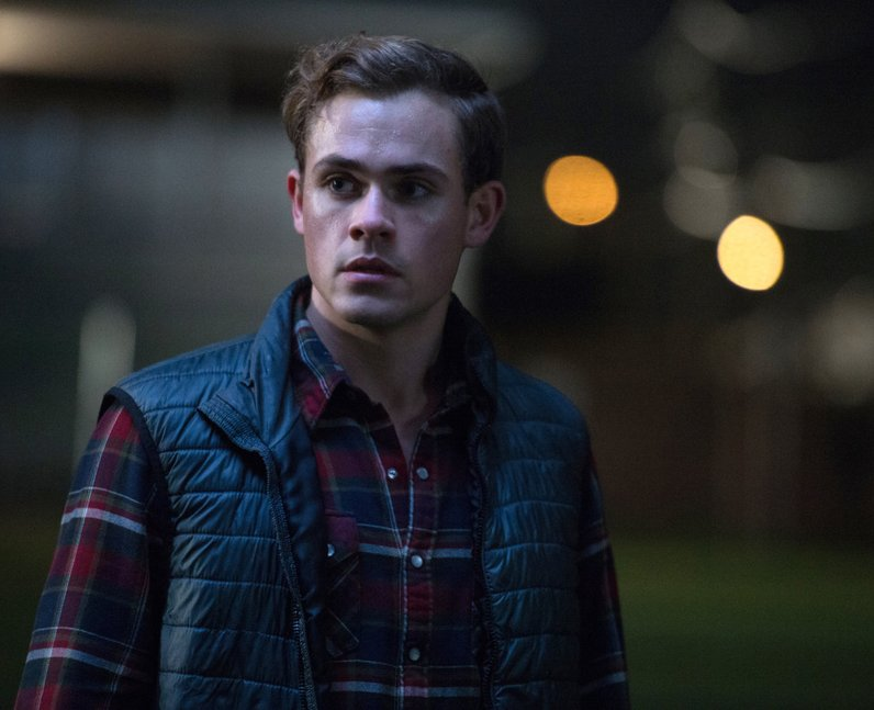 Dacre Montgomery as Jason, the red ranger in Power