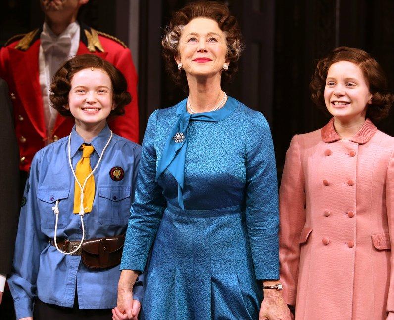 Sadie Sink Helen Mirren on Broadway