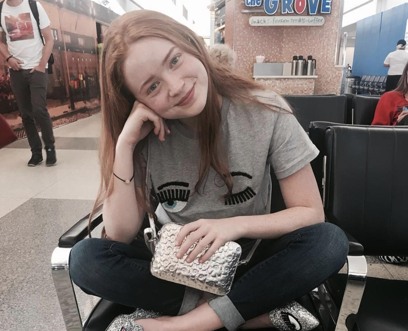 Sadie Sink instagram twitter social media