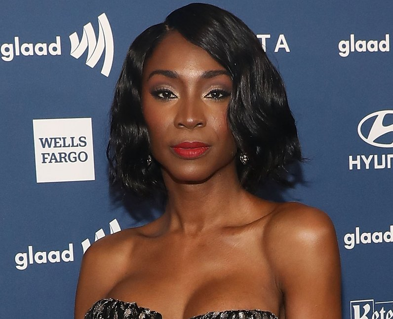 Angelica Ross attends the 30th Annual GLAAD Media