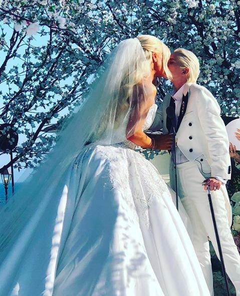Nats Getty and Gigi Gorgeous' wedding