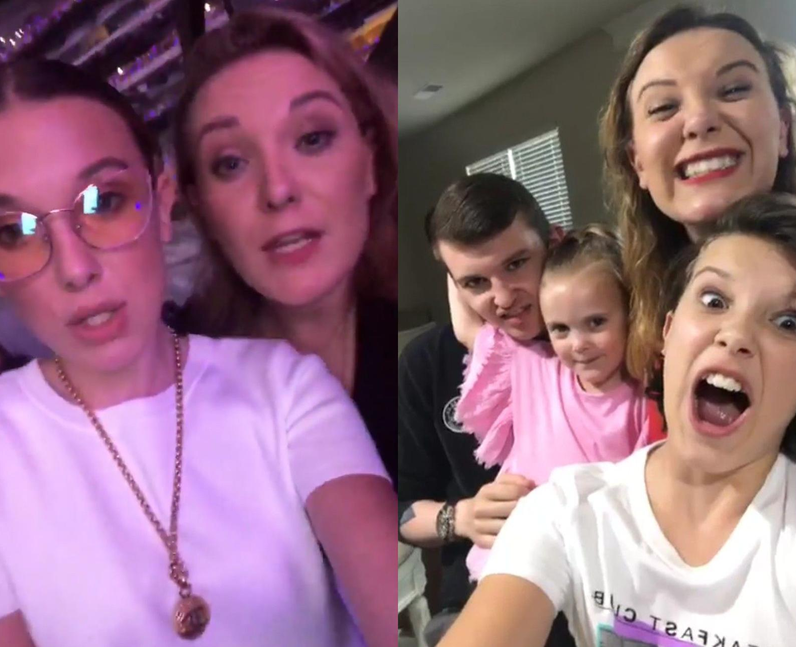 Millie Bobby Brown siblings