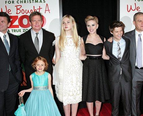 Colin Ford, we bought a zoo, Elle Fanning, Matt Damon