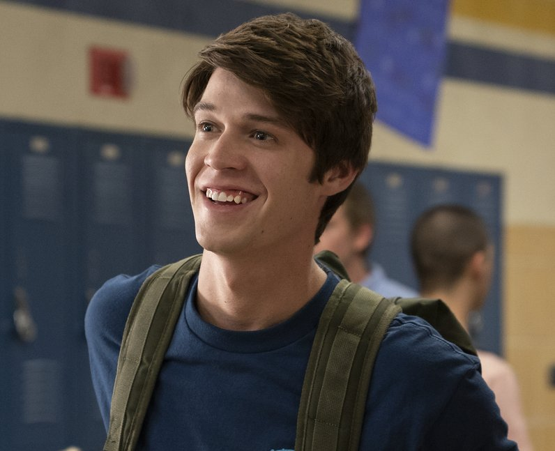 Colin Ford as Josh Wheeler in Netflix's Daybreak