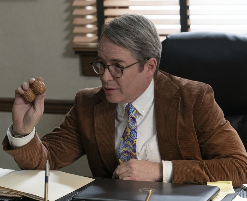 Matthew Broderick as Burr in Netflix's Daybreak