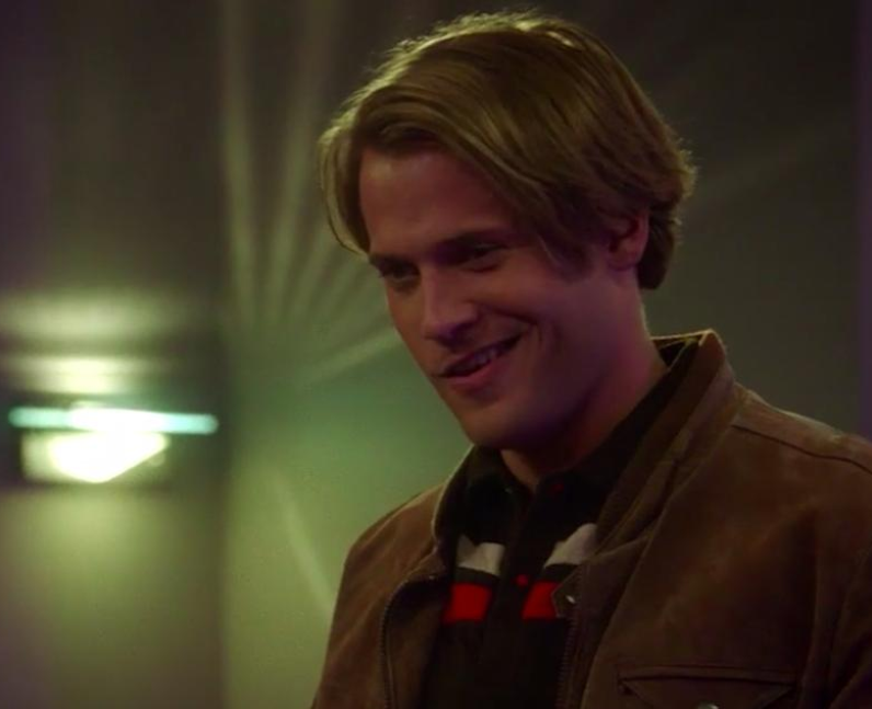 Wyatt Nash as Young Hitchcock in Brooklyn 99