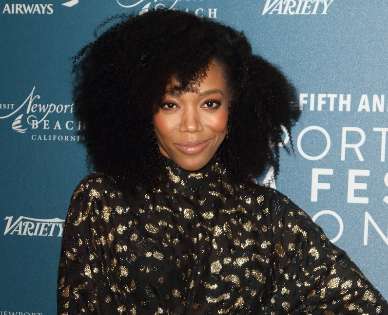 Naomi Ackie at Newport Beach Film Festival