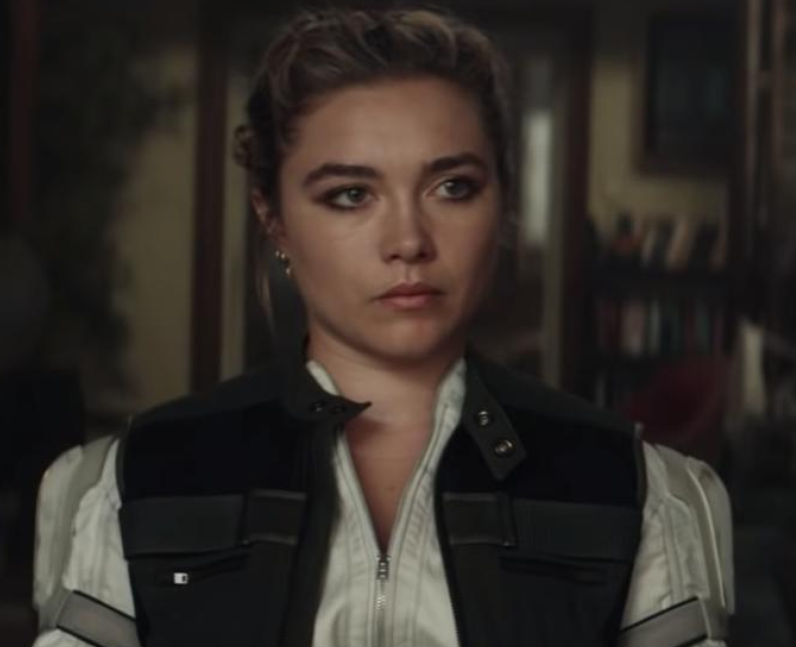 Florence Pugh as Yelena Belova in Black Widow