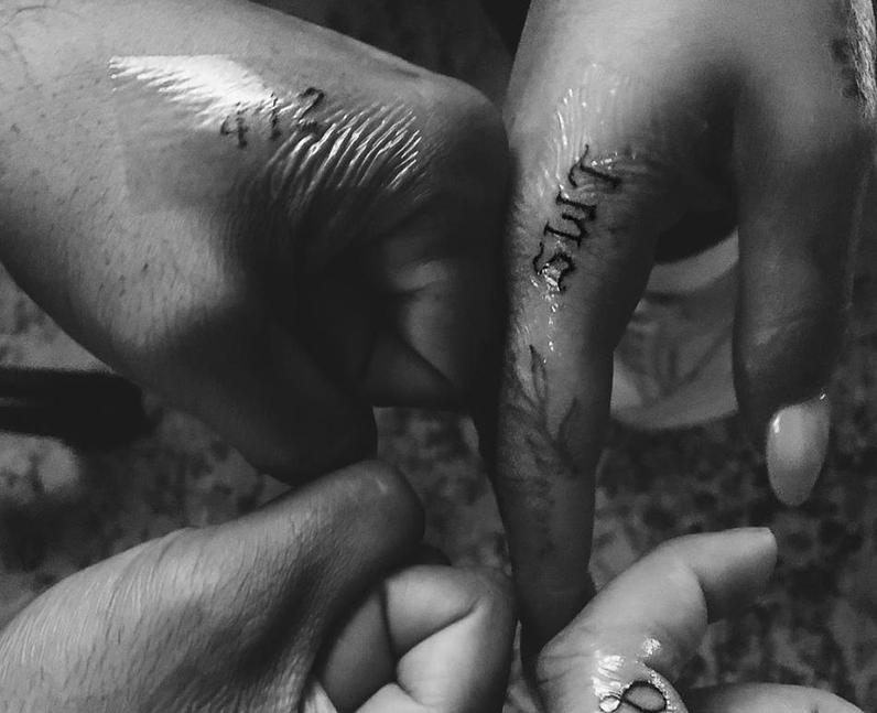 Ariana Grande Sweetener World Tour tattoo