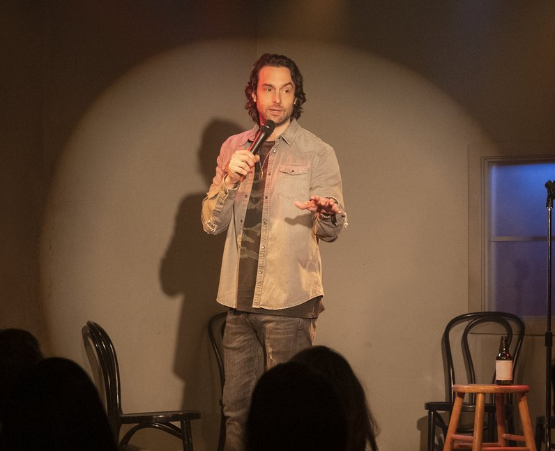 Chris D'Elia as Henderson in Netflix's You