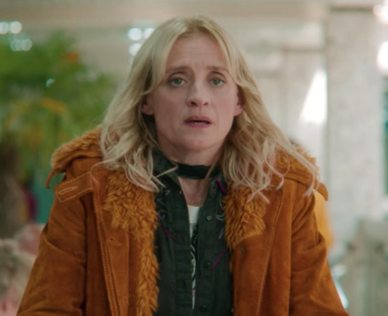 Anne Marie Duff as Maeve's mum in Sex Education