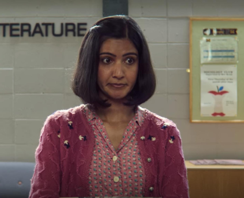 Rakhee Thakrar as Miss Sands in Sex Education