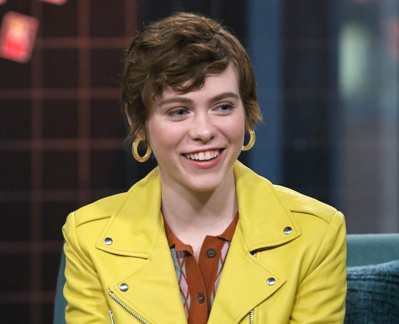 Sophia LIllis Sydney in I Am Not Okay With This cast
