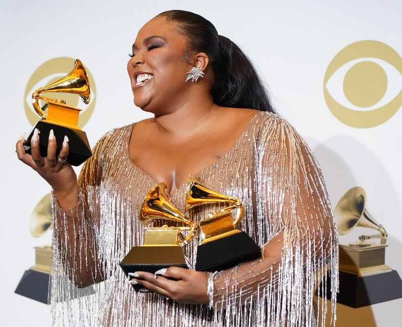 Lizzo Grammys how many