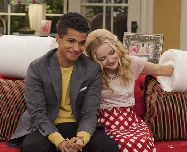 Jordan Fisher and Dove Cameron in Liv & Maddie