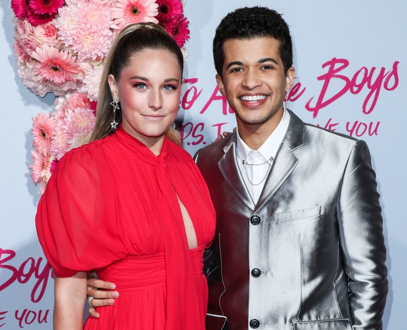 Jordan Fisher and his Ellie Woods at To All The Bo