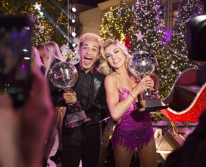 Jordan Fisher and Lindsay Arnold win Dancing With