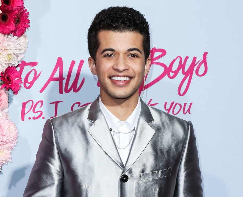Jordan Fisher at To All The Boys 2 premiere