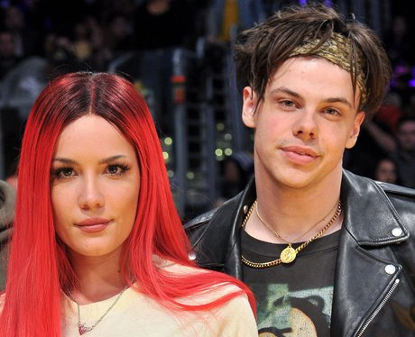 YUNGBLUD dating relationships Halsey