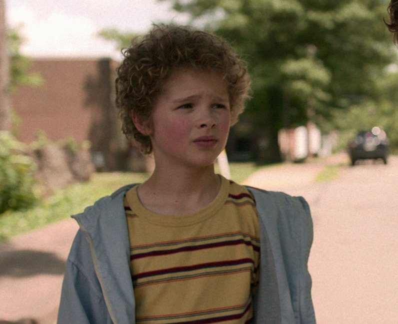 Aidan Wojtak-Hissong as Liam in Netflix's I Am Not