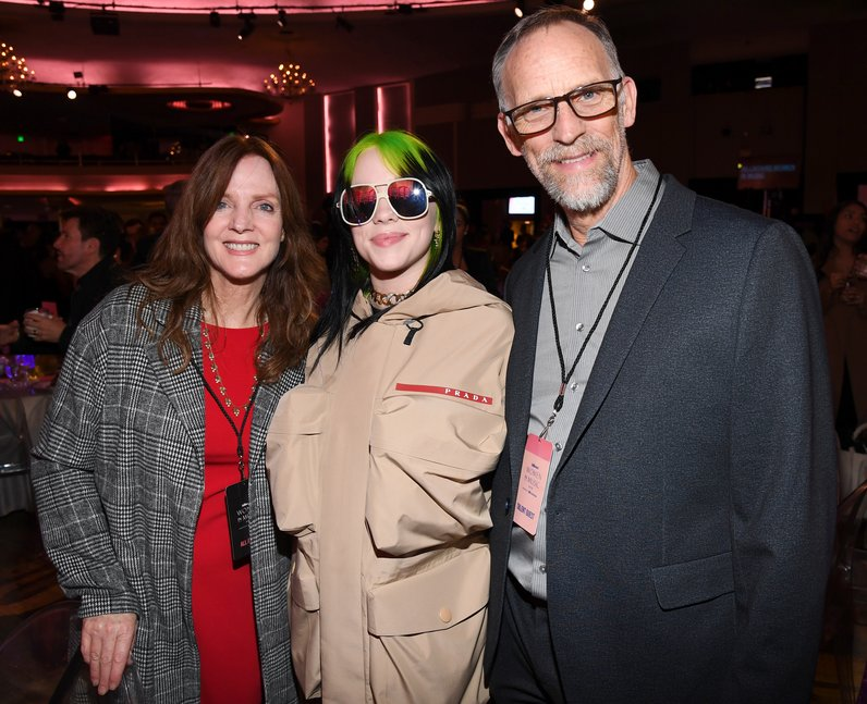 Billie Eilish's parents Maggie Baird and Patrick O