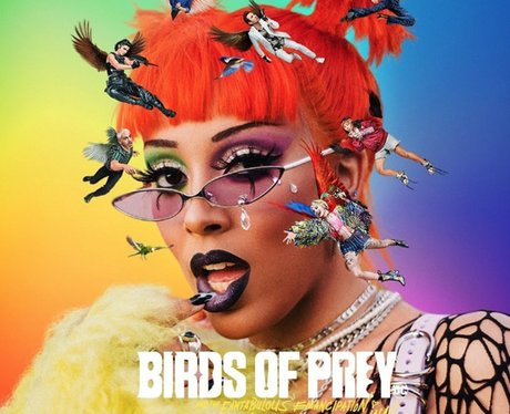 Doja Cat boss bitch birds of prey