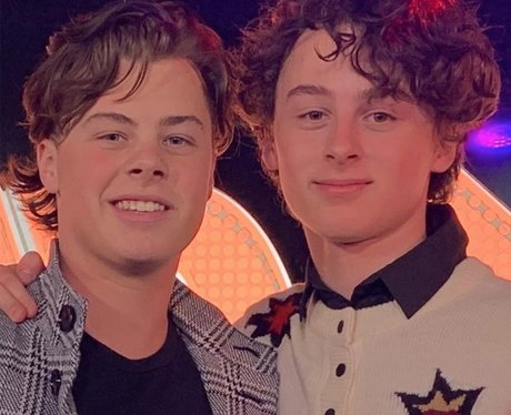 Wyatt Oleff and brother Eli Oleff