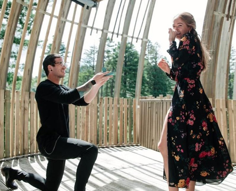 Debby Ryan Josh Dun engaged proposal