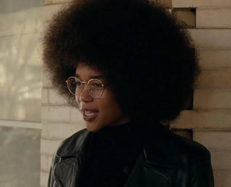 Laura Harrier as Patrice Dumas in BlacKkKlansman
