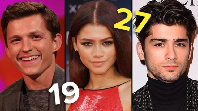 Quiz Can We Guess Your Age Based On Your Celebrity Crushes Popbuzz