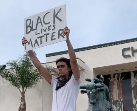 Deaken Bluman Black Lives Matter protest