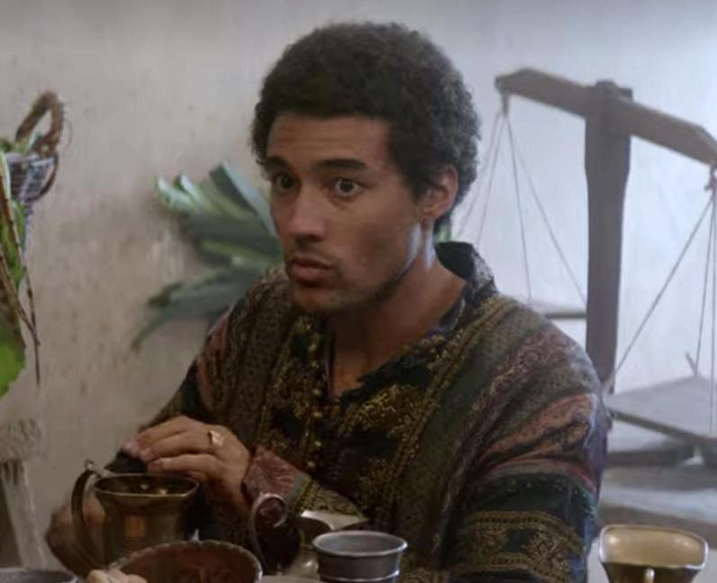 Devon Terrell as Horatio in 2018's Ophelia