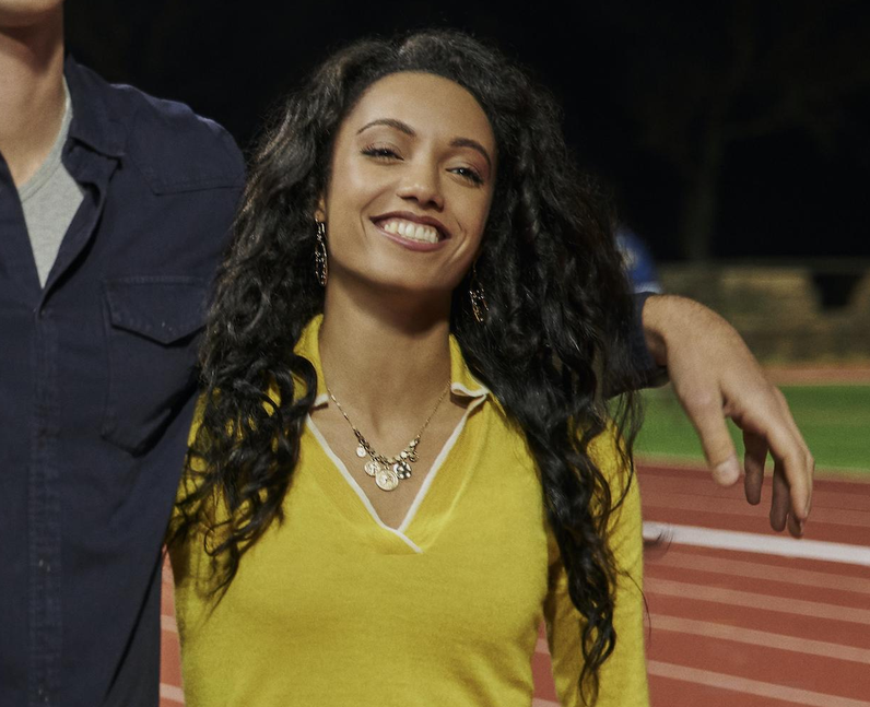 Maisie Richardson-Sellers as Chloe in The Kissing