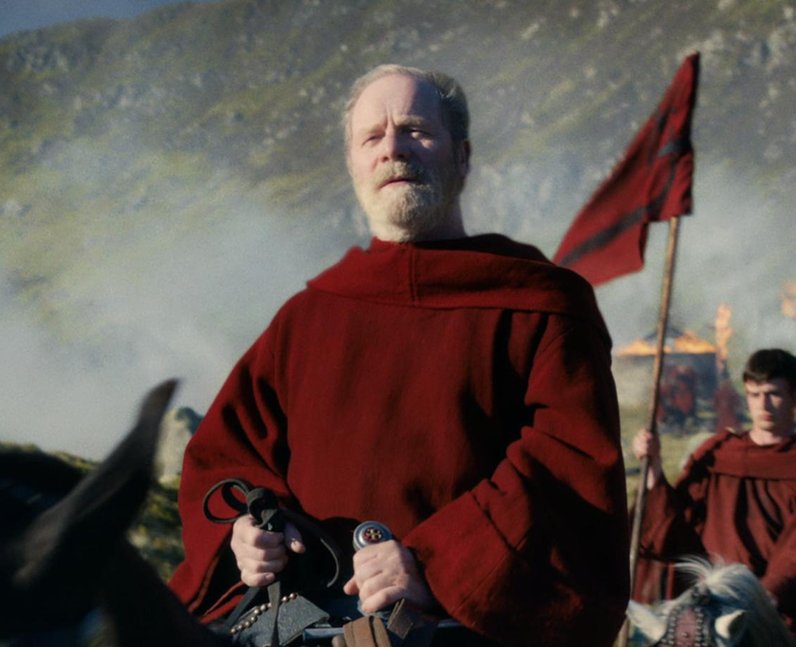 Who plays Father Carden in Cursed? - Peter Mullan