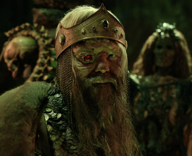 Who plays Rugen The Leper King in Cursed? - Olafur