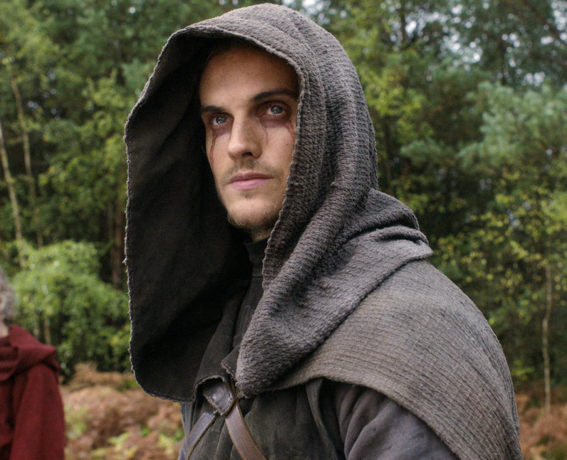Who plays The Weeping Monk in Cursed? - Daniel Sha